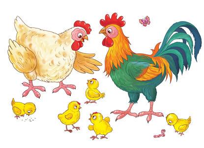 Afbeeldingen van Tas vol taal - Lente en jonge dieren / dieren