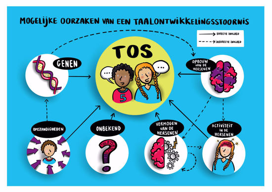 Afbeelding van Praatplaat over de mogelijke oorzaken van TOS